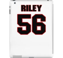 NFL Player Perry Riley fiftysix 56 iPad Case/Skin