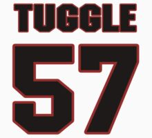 NFL Player Justin Tuggle fiftyseven 57 by imsport