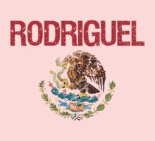 Rodriguel Surname Mexican Kids Clothes