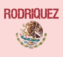 Rodriquez Surname Mexican Kids Clothes