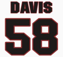NFL Player Thomas Davis fiftyeight 58 T-Shirt