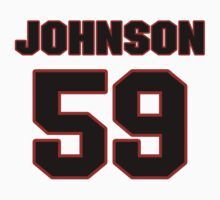 NFL Player Rufus Johnson fiftynine 59 by imsport