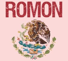 Romon Surname Mexican Kids Clothes