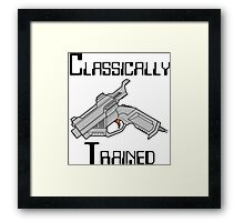 Dreamcast Classically Trained Framed Print