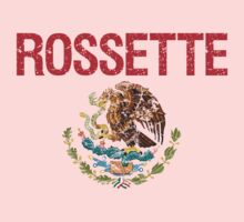 Rossette Surname Mexican Kids Clothes