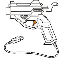 Dreamcast Light Gun Photographic Print