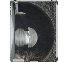 Snowing on the Oxford Canal Newbold Tunnel  iPad Case/Skin