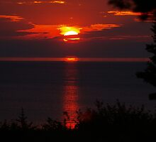 Good Morning from Lake Huron by BarbL