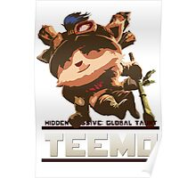 Global Taunt: Teemo. Poster