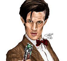 11th Doctor by Sekazimaru