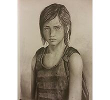 The last of us: Ellie Photographic Print