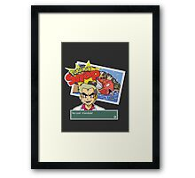Hey Look! A Geodude! Framed Print
