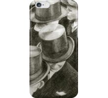 men with hats iPhone Case/Skin