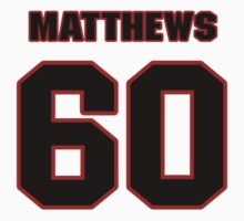 NFL Player Kevin Matthews sixty 60 by imsport