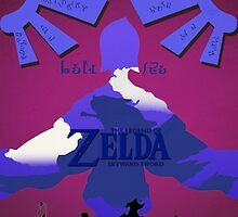 Legend of Zelda: Skyward Sword - Link - Fi - Loftwing by RellikJoin