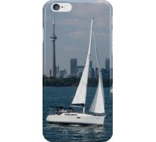 Summer Sailing Postcard from Toronto iPhone Case/Skin