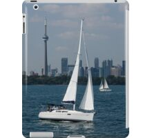 Summer Sailing Postcard from Toronto iPad Case/Skin