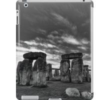 Stonehenge Monochrome iPad Case/Skin
