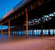 Hastings Pier (colour) by DannyJFord