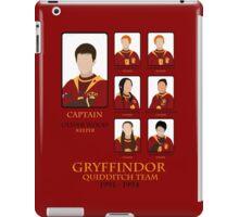 Gryffindor Quidditch Team 1991-1994 iPad Case/Skin
