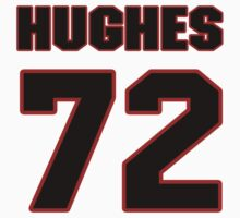 NFL Player Kevin Hughes seventytwo 72 by imsport