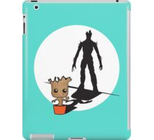 Gainz like Groot iPad Case/Skin