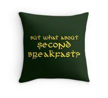 Second Breakfast Throw Pillow
