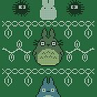 Totoro Christmas Jumper by dbizal