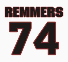 NFL Player Mike Remmers seventyfour 74 by imsport