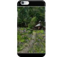 A Lupine Tale for Vincent Fine Art Poster iPhone Case/Skin