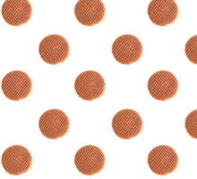 Stroopwafels pattern Sticker