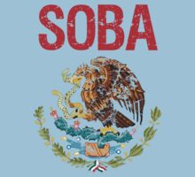 Soba Surname Mexican Kids Clothes