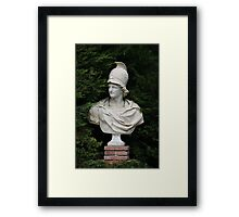 Bust of Alexander the Great Framed Print