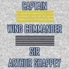 Captain, Wing Commander, Sir by initiala
