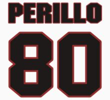 NFL Player Justin Perillo eighty 80 by imsport