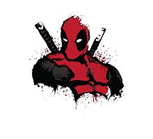 DeadPool shirt Photographic Print