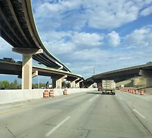 Building The New Overpasses by WildestArt
