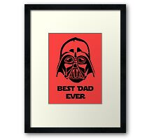 Best Dad Ever Framed Print