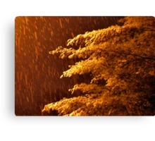 """""""A Snowy Evening in Knoxville"""" (no.8, from this series)... products  Canvas Print"""