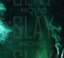 SLAY Phone Case (Green Gas) by RoyalKingdom