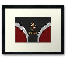 Ferrari Lover [NEW ~ Gold] Framed Print