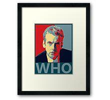 Who? Framed Print
