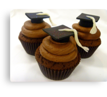 Graduation Cupcakes - By Haydene - NZ Canvas Print
