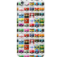 Pokeball collection iPhone Case/Skin