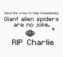 Giant alien spiders are no joke! by pudic