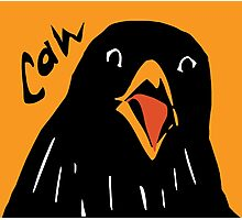 Caw! Photographic Print