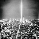 New York City - Tribute in Light by Vivienne Gucwa