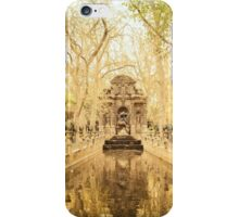Paris - Fountain - Garden of Luxembourg iPhone Case/Skin