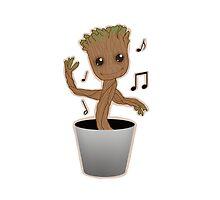 Dancing Groot by GilbertoMtz