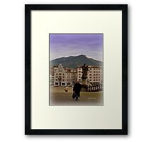 Einsiedeln Abbey - a Swiss Nun Framed Print